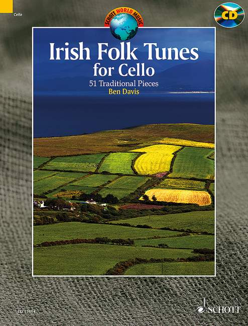 Irish folk tunes for cello image